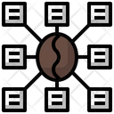 Coffee Beans Seeds Drink Icon