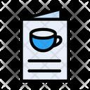 Coffee Menu Coffee List Menu Icon