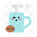 Coffee Mug Bean Mug Icon
