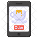 Online Coffee Coffee Order Mobile Application Icon