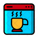 Online Coffee Online Coffee App Coffee Order Icon
