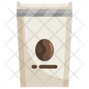 Coffee Packaging Coffee Beans Coffee Bags Icon
