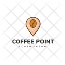 Coffee Point Icon
