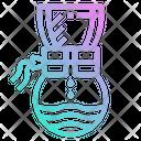 Pot Drip Hot Icon