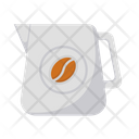 Coffee Milk Pot Barista Coffee Equipment Icon