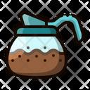 Decanter Coffee Pot Icon