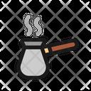 Coffee Pot Turkish Brewer Icon