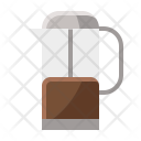 Press Coffee Icon