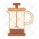 Coffee Press Kettle Icon