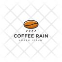 Coffee Rain Coffee Logomark Coffee Symbol Icon
