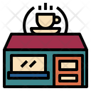 Coffee Shop Building Icon