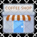 Coffee Shop Cafe Canteen Icon