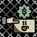 Coffee Shop Discount Privilege Icon