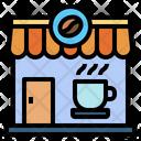 Coffee Shop Store Restaurant Icon