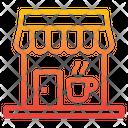 Coffee Shop Food Restaurant Icon