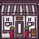 Coffee Shop Store Buildings Icon