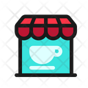 Coffee Shop Coffee Store Cafe Icon