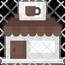Coffee Shop Cafe Coffee Bar Icon