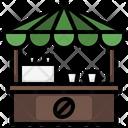 Coffee Shop Coffee Bar Coffee Stall Icon