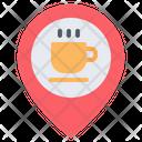 Coffee Shop Location Coffee Shop Cafe Icon
