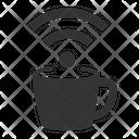 Coffee Shop Wifi Coffee Shop Internet Hotspot Icon