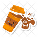 Coffee Spill Icon