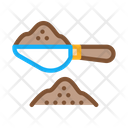 Coffee Spoon Factory Icon