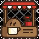 Icafe Stall Bar Icon