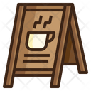 Icoffee Stand Menu Icon