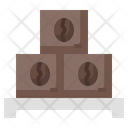 Coffee Stock Coffee Package Coffee Logistic Icon