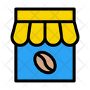 Coffee Store Coffee Shop Cafe Icon