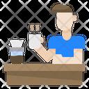 Man Avatar Coffee Icon