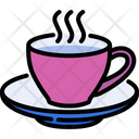Coffee Time Drink Cup Icon
