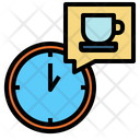 Time Clock Restaurant Icon