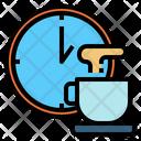 Clock Time Restaurant Icon