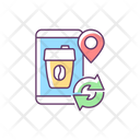 Coffee To Go Refill Cup Icon