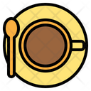 Coffee top view Icon