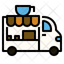 Coffee Truck Icon