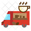 Icoffee Truck Cafe Icon
