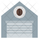 Coffee Warehouse Storehouse Industry Icon
