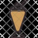 Coffee With Ice Cream Cold Coffee Coffe Icecream Icon