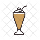 Coffee with ice-cream Icon