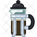 Coffeemaker French Press Icon