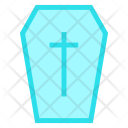 Coffin Death Halloween Icon