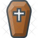 Coffin Grave Dead Icon
