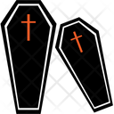 Coffin Funeral Graveyard Icon