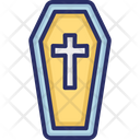 Coffin Funeral Coffin Graveyard Icon