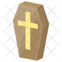 Coffin Casket Halloween Coffin Icon