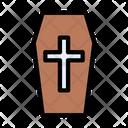 Coffin Dead Halloween Icon