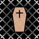 Coffin Death Halloween Icon